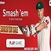 Online free Smash'em cricket game