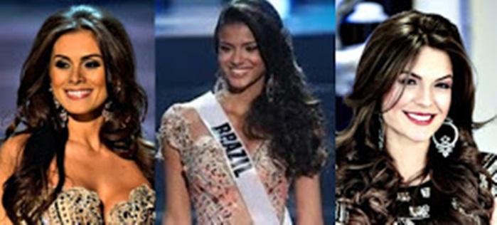 Misses Universo Brasil 2012 - 2013 - 2014