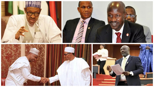 Order Of Elections: Pro-Buhari & Pro-Saraki Senators Spoil For War