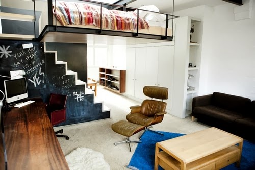 10-1st-Floor-Studio-Mews-Apartment-Camden-London-UK-Skylight-Roof-Terrace-Garden