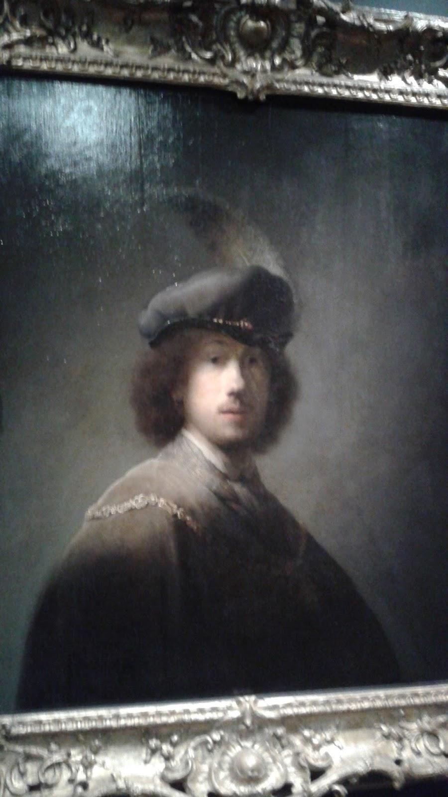 Rembrandt Van Rijn Self Portrait 1629 Robin's Great Adventur...