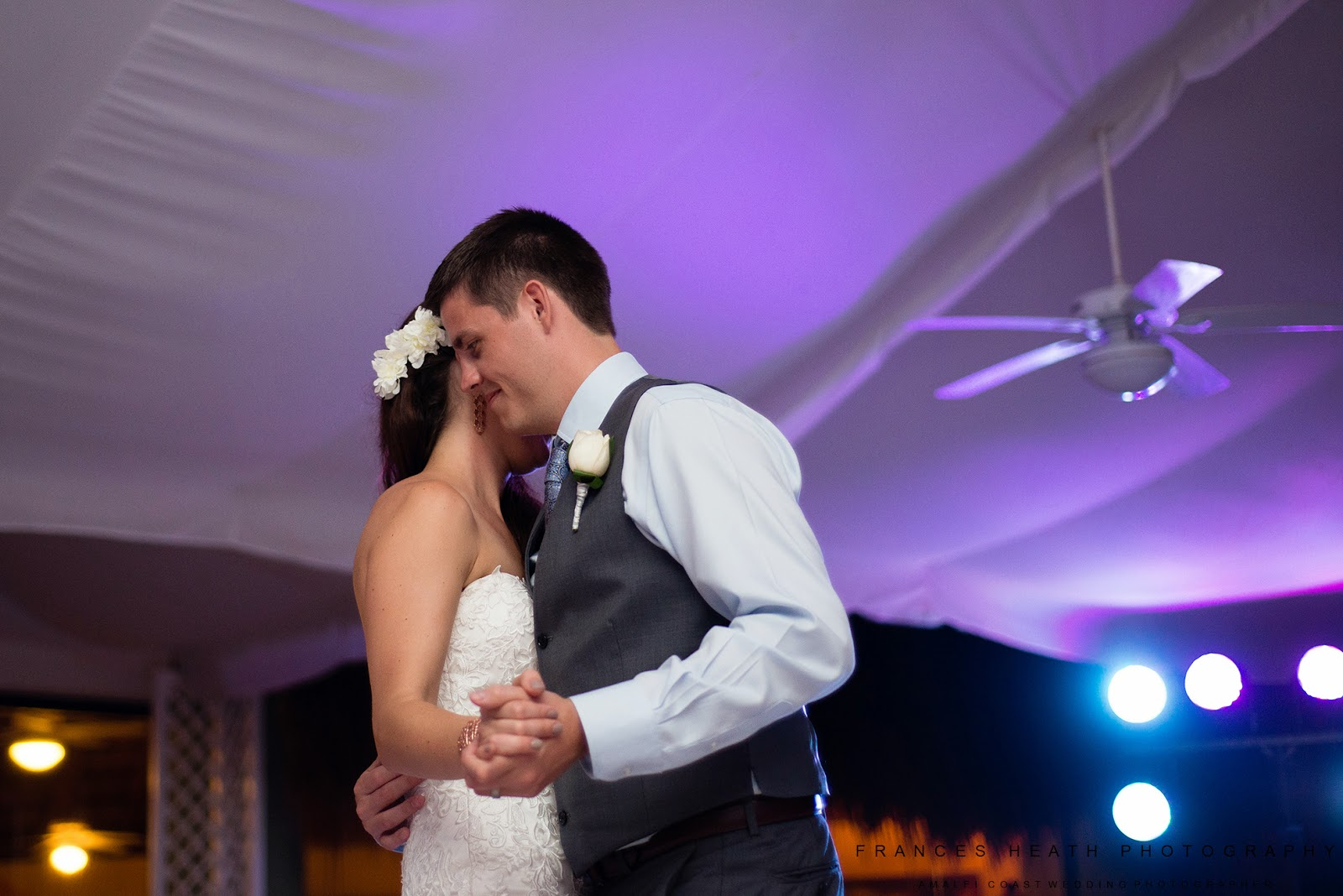 First dance Tulum Mexico