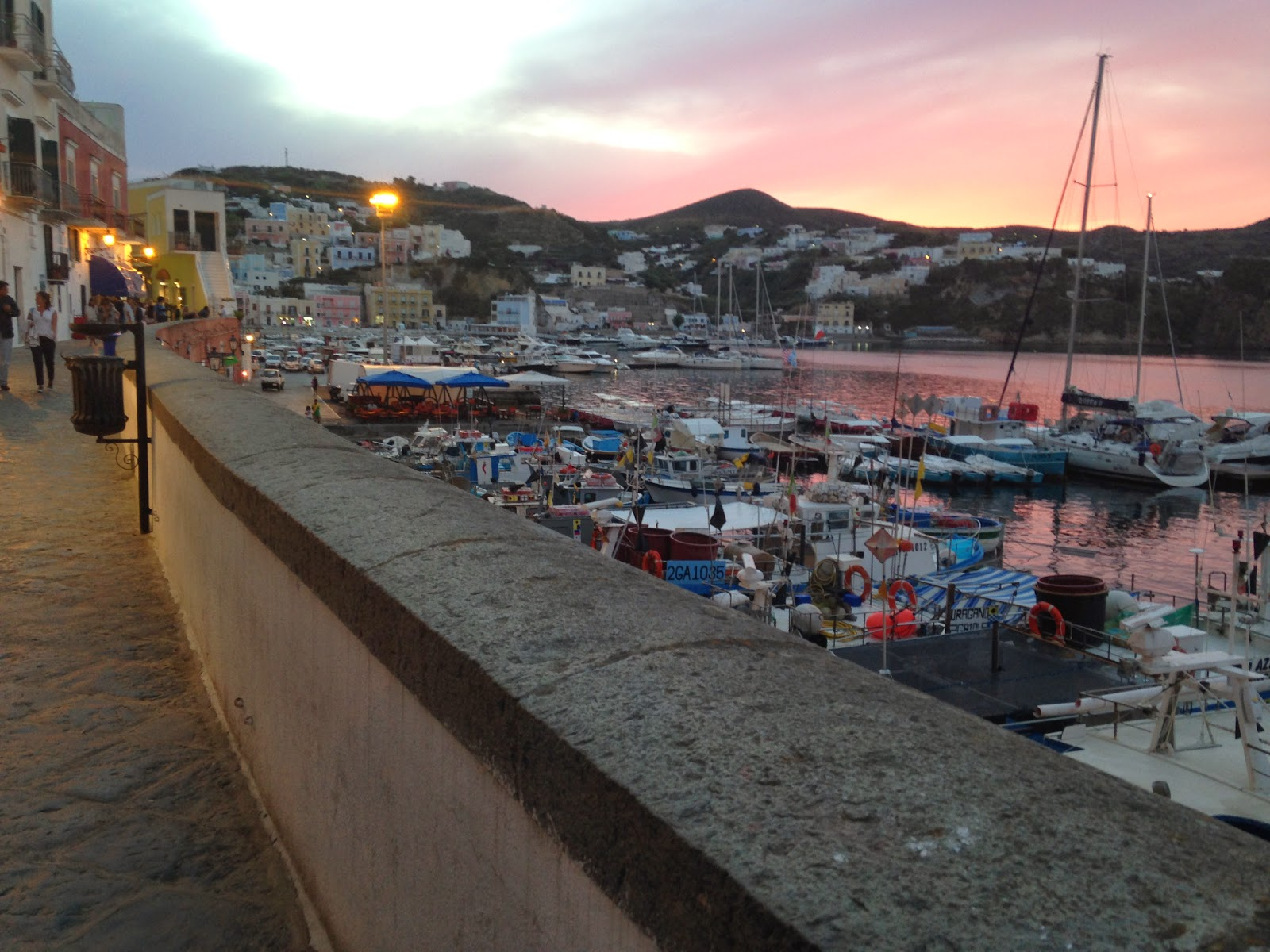 Ponza, Italy - Main Port