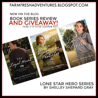 Lone Star Hero Book Series Review and GIVEAWAY