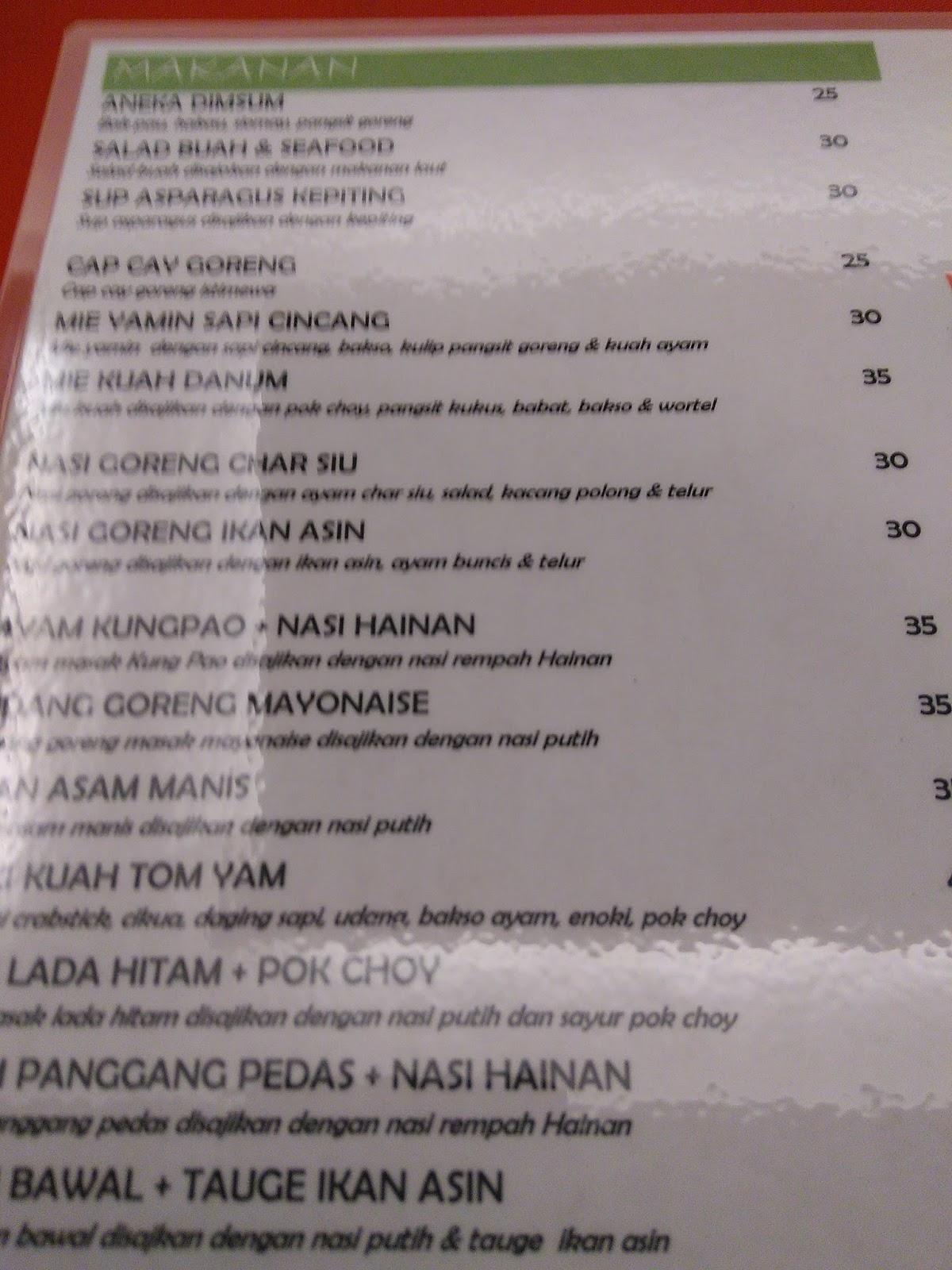 menu imlek