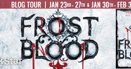 Review: Frostblood by Elly Blake + #Giveaway!