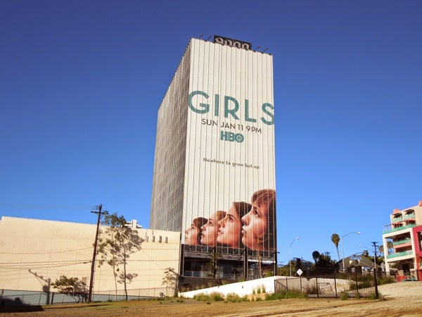 Giant Girls season 4 billboard