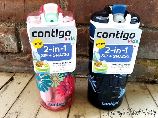 Back to School Snacks & Sips Made Easy with Contigo! #MBPBacktoSchool18