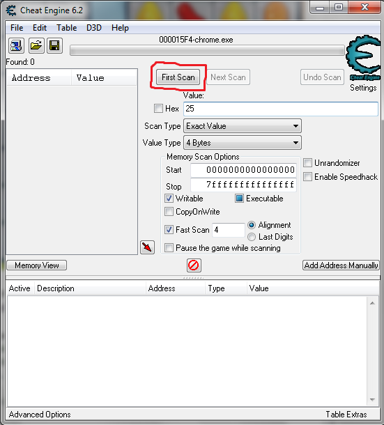 how to use cheat engine on chrome games