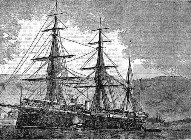 Crucero Reina María Cristina.