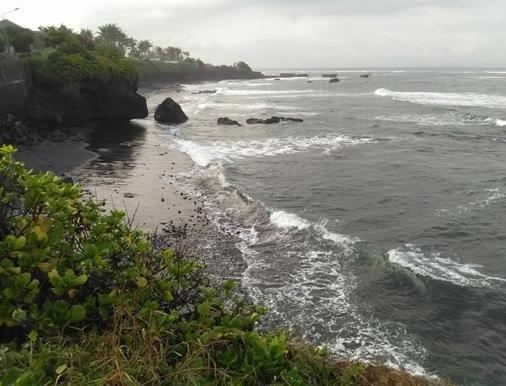 Mengening Beach Bali, Pantai Mengening Cemagi Mengwi Badung, Mengening Black Sand Beach