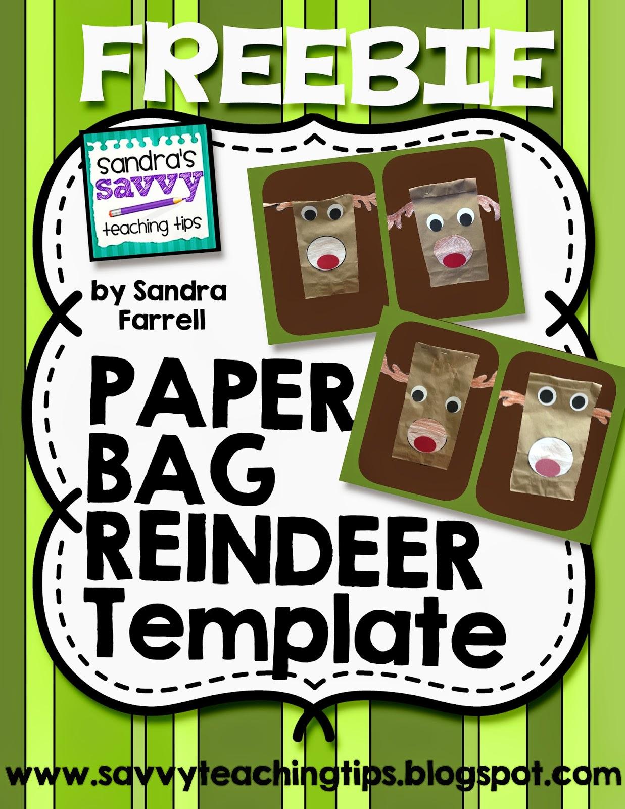Rudolf the reindeer gift bag craft | all kids network.