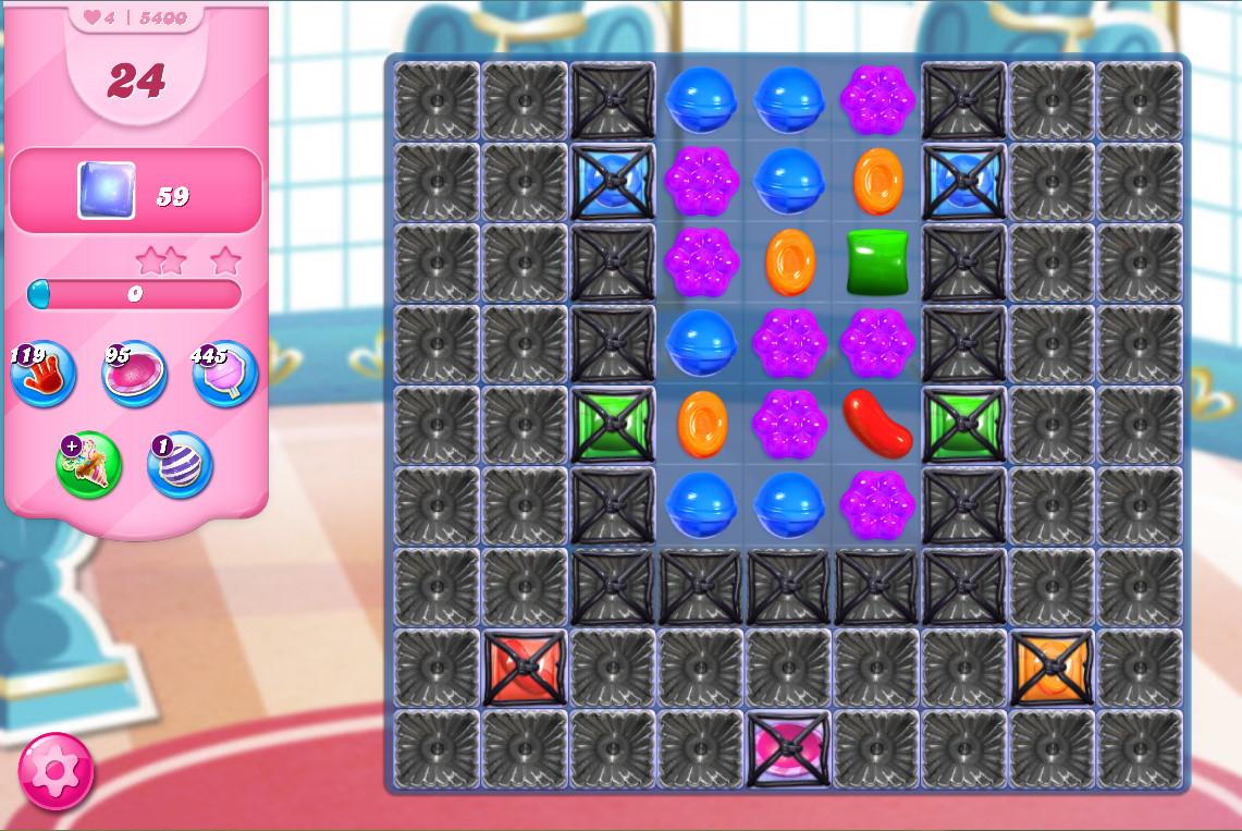 Candy Crush Saga level 5400