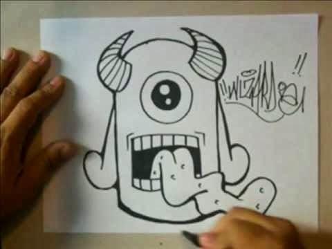Graffiti Creator Styles: graffiti sticker characters by wizard  Graffiti Creato...