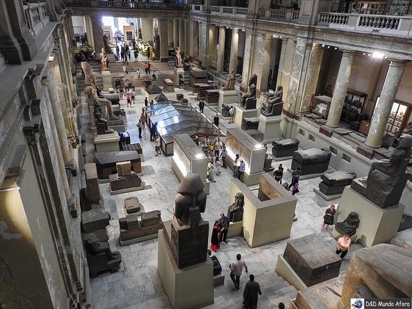 Museu do Cairo: múmias reais e tesouro de Tutankhamon