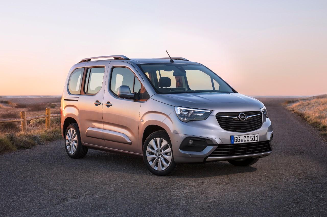 Το καινοτόμο Opel Combo Life αναμένεται σύντομα: Έναρξη πωλήσεων το 1ο εξάμηνο και παραδόσεις το 2ο