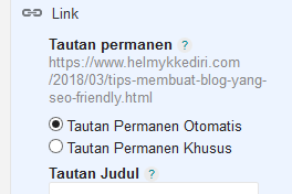 Tips membuat blog yang seo friendly