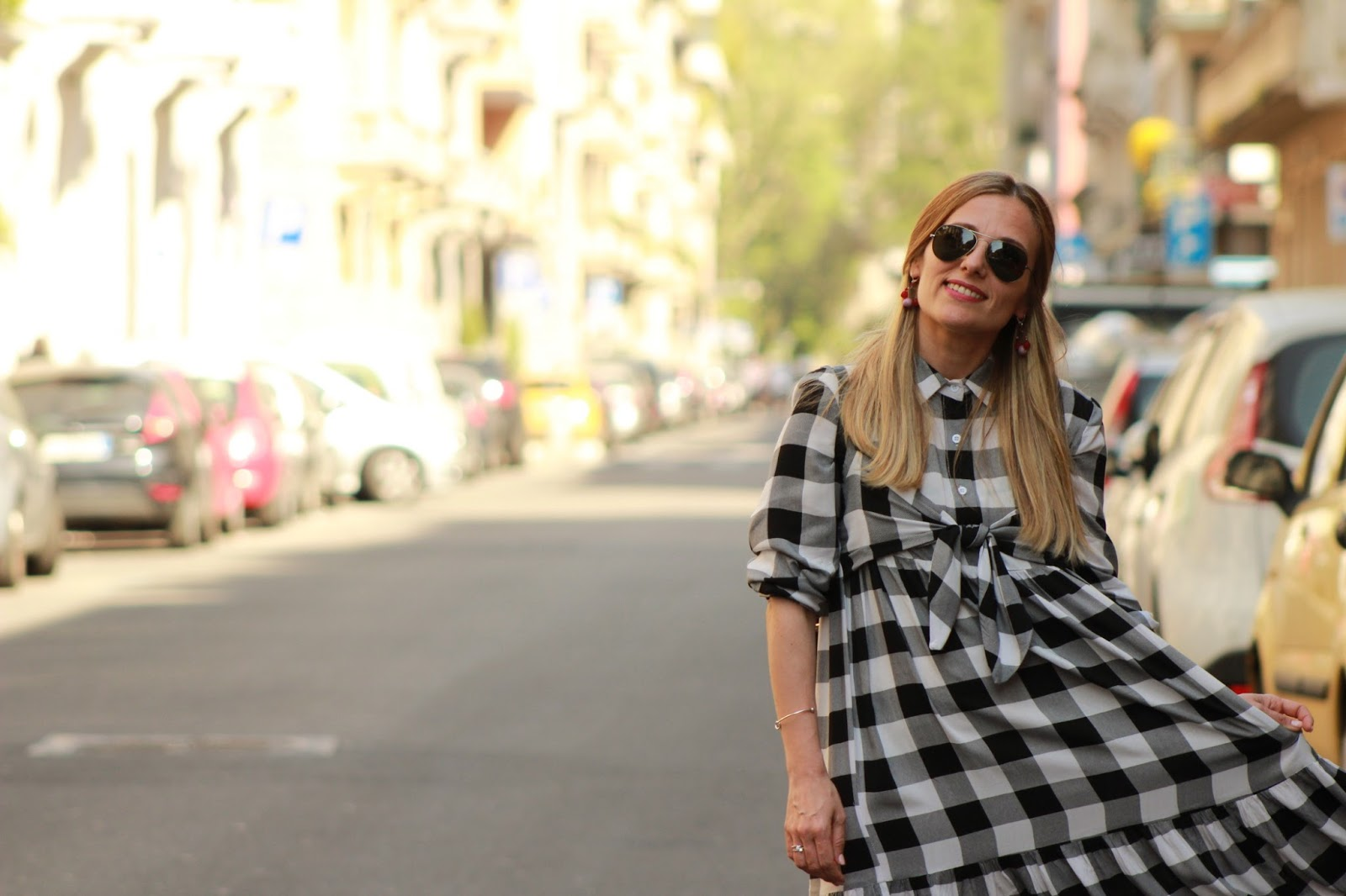 Come indossare un check dress - Eniwhere Fashion