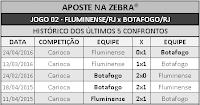 LOTECA 703 - HISTÓRICO JOGO 02
