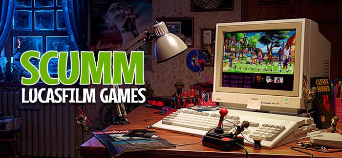 SCUMM (Lucasfilm Games, 1987-1997)