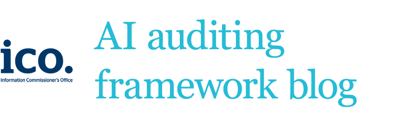 AI auditing framework blog