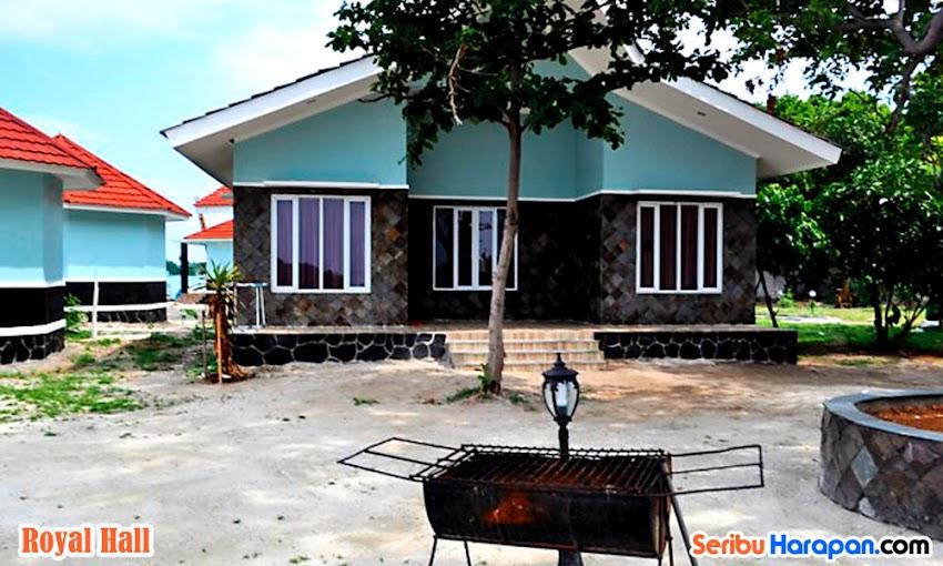 wisata pulau kelapa di royal island