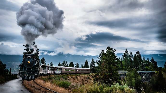 Wallpaper: Kettle Valley Steam Train