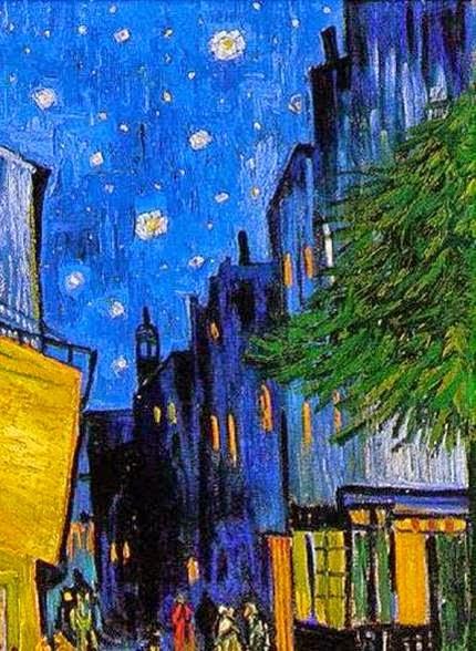 Historia Del Arte 2 Comentarios Van Gogh Terraza Del