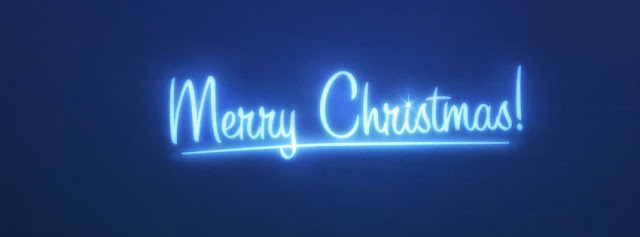 Merry Christmas Simple Facebook Cover