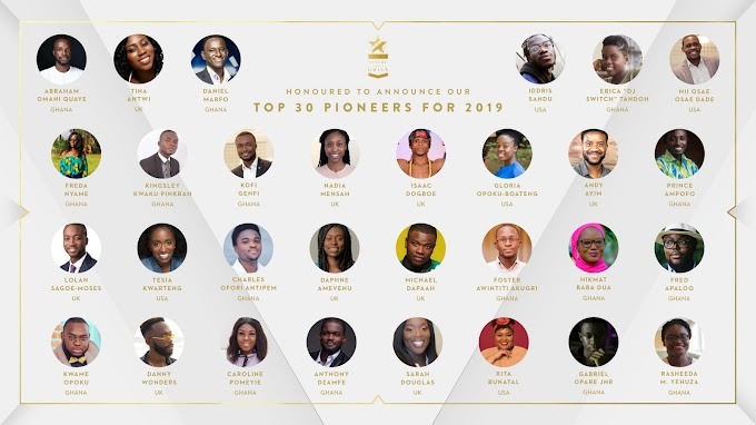 The 2019 Future of Ghana Top 30 U30
