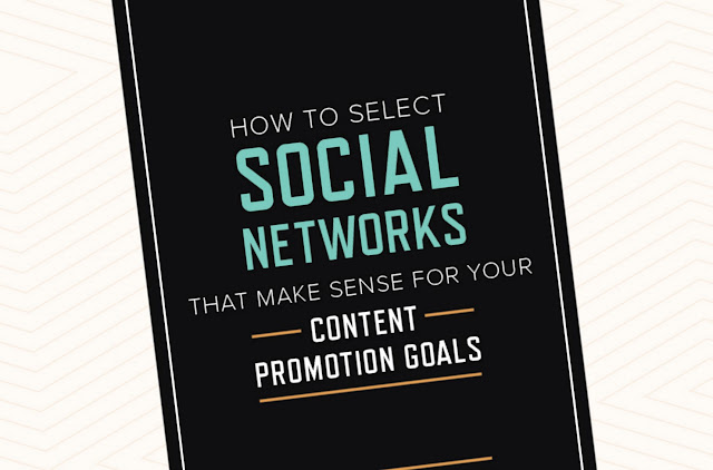 How to select social networks for your content promotion goals [INFOGRAPHIC]