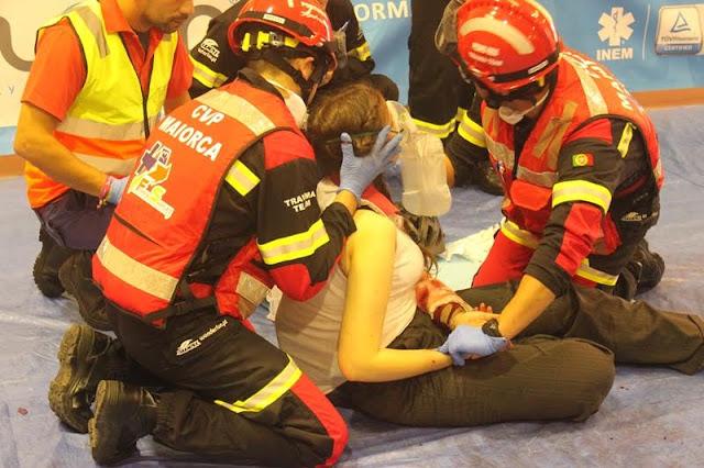 VP de Maiorca participou no Campeonato Nacional de Trauma
