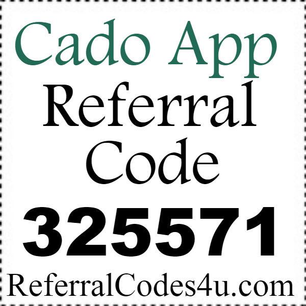 Cado Referral Code 2021-2122, Cado App Promo Code, Cado Download Iphone and Android