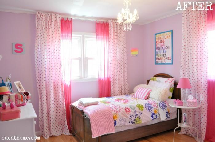 Hogares frescos 100 dise os de habitaciones para ni as for Cuartos para ninas grandes