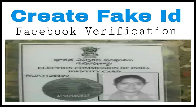 create nid card online for facebook verification indiwiki