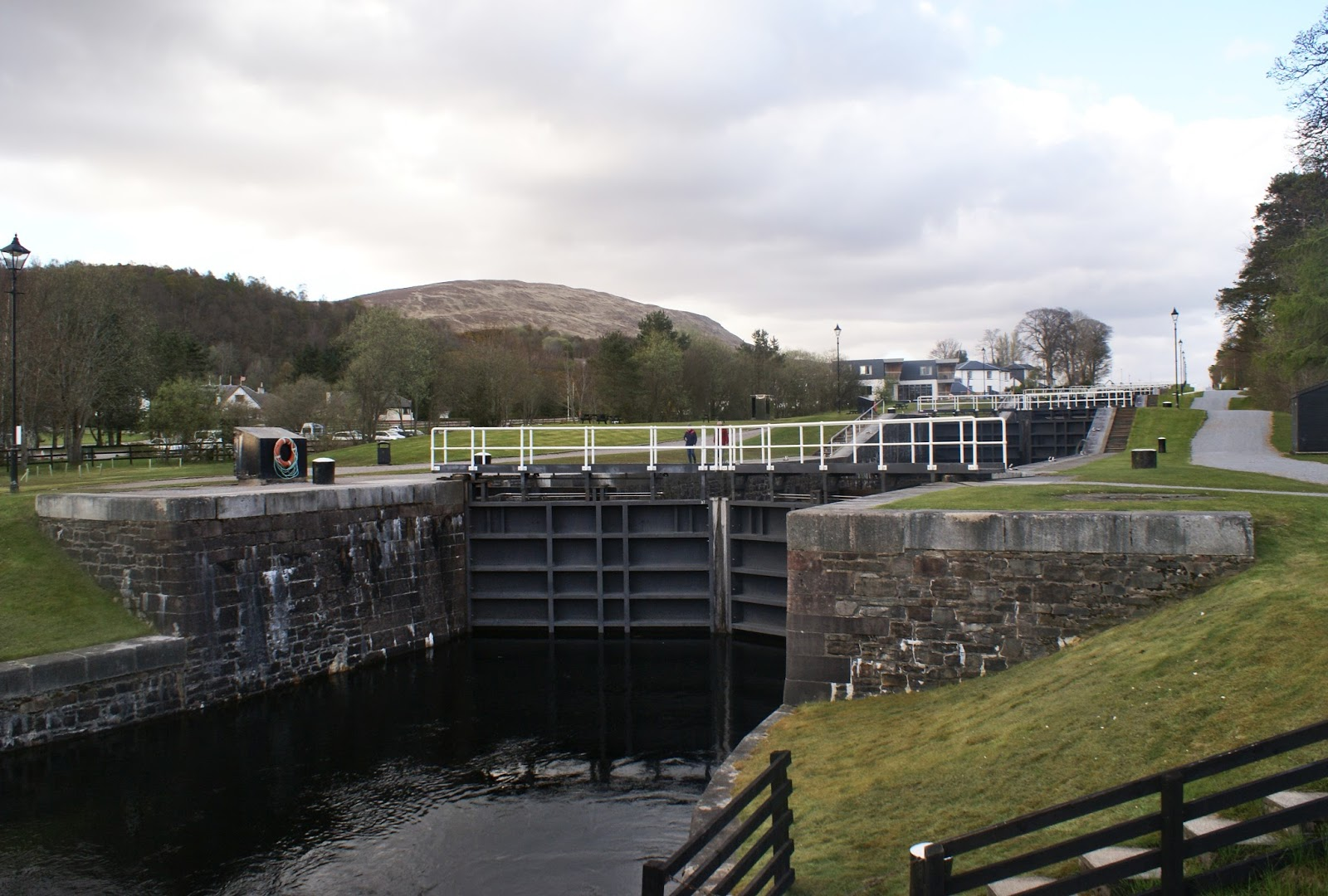 caledonian canal neptune's staircase corpach fort william scotland uk