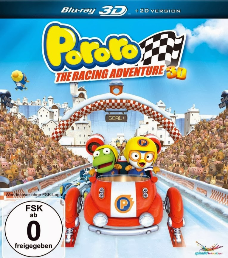Free Download Pororo The Racing Adventure (2013) Bluray