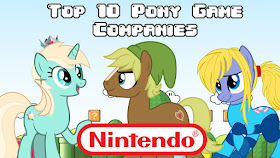 Top 10 Picks for Best Game Companies That Should do a Pony Game! - Nintendo