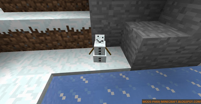 Baby Snowman / Baby Mobs Mod 1.8