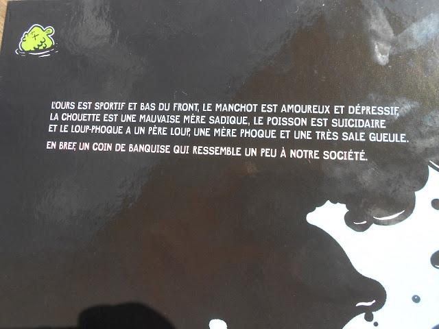 Loup-phoque de Davy Mourier verso