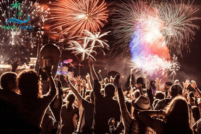 Gangtok at new year