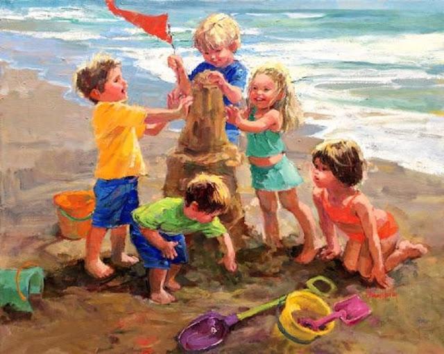 Τα καλοκαίρια των παιδικών μας χρόνων...