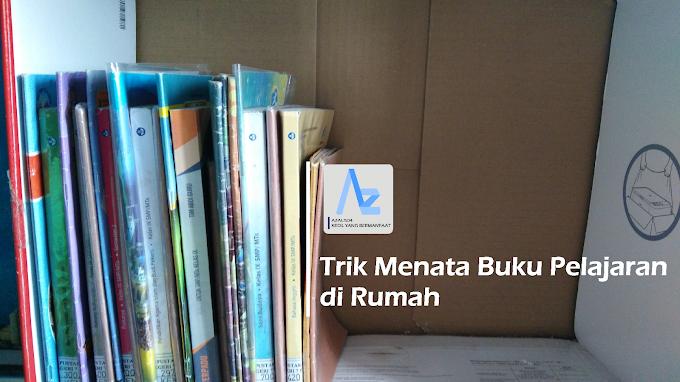 Trik Menata Buku Pelajaran di Rumah