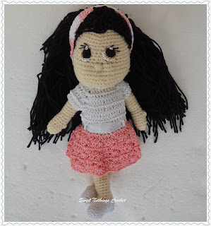 free crochet amigurumi pattern, free crochet candy doll pattern, free crochet toy pattern