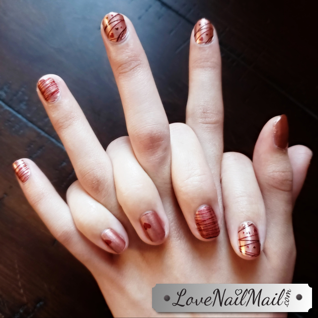 Color Street Whole Latte Love Mother-Daughter Manicures  |  www.LoveNailMail.com