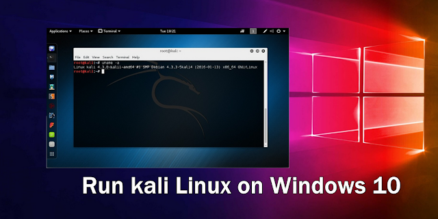 how to install kali linux on windows