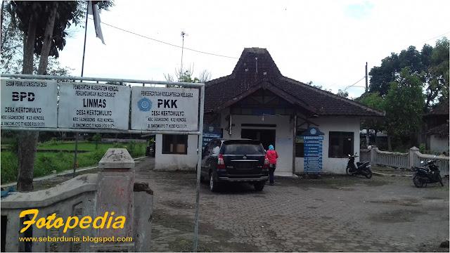 Balai Desa Kertomulyo Brangsong
