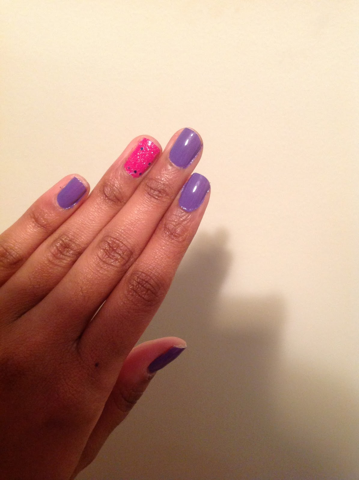 15 Lovely Nail Designs for Spring – FlawlessEnd.com  Purple And Pink Nails