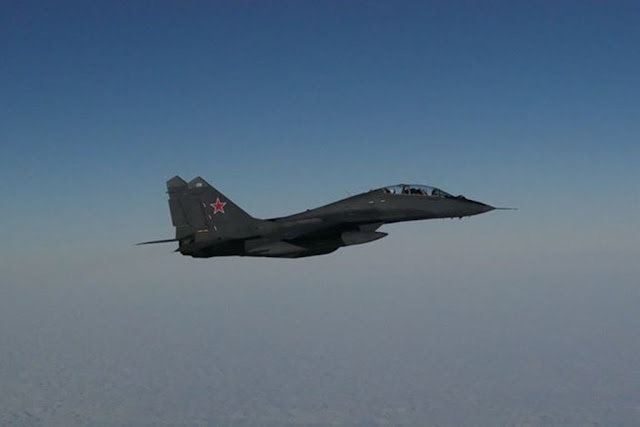 German Eurofighters intercepted Russian aircraft