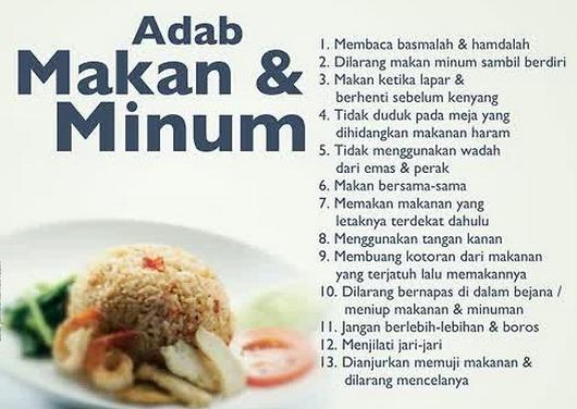 Cara Makan Yang Baik